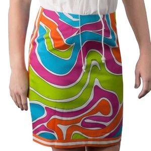 Gretchen Scott Fever Dance skirt NWT